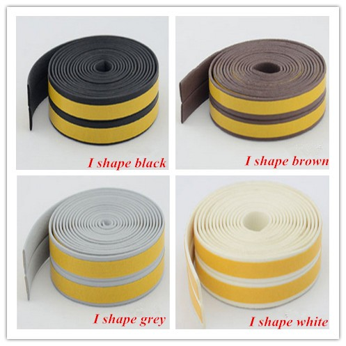 D/P/E/I shape self-adhesive rubber seal strip